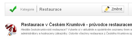 Kde najít restauraci ve svém okolí